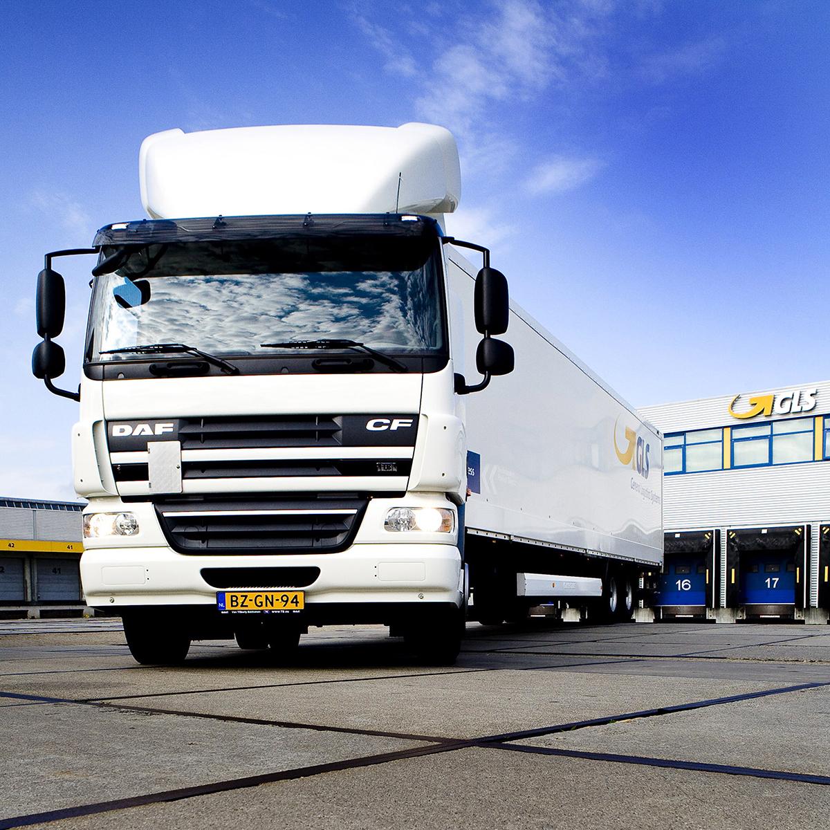 vrachtwagen GLS - Bill de Kimpe
