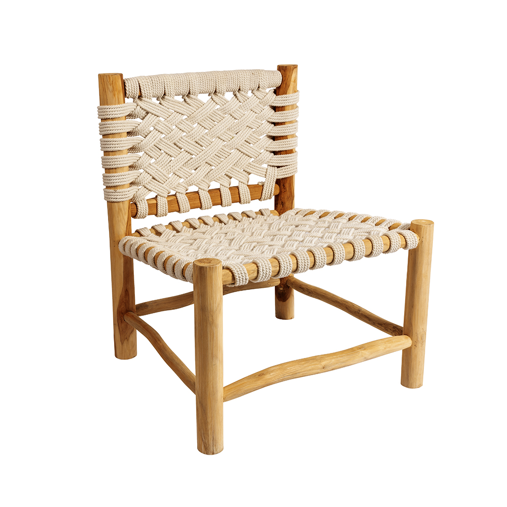 OriginalHome- Organic Chair Cross Natural-Bill de Kimpe